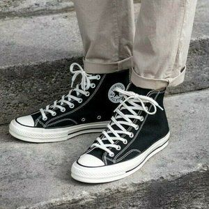 Converse 1970s Mens Chuck Taylor All Star Hi Sneak